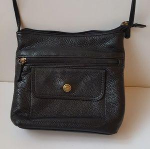 Stone Mountain leather bag.